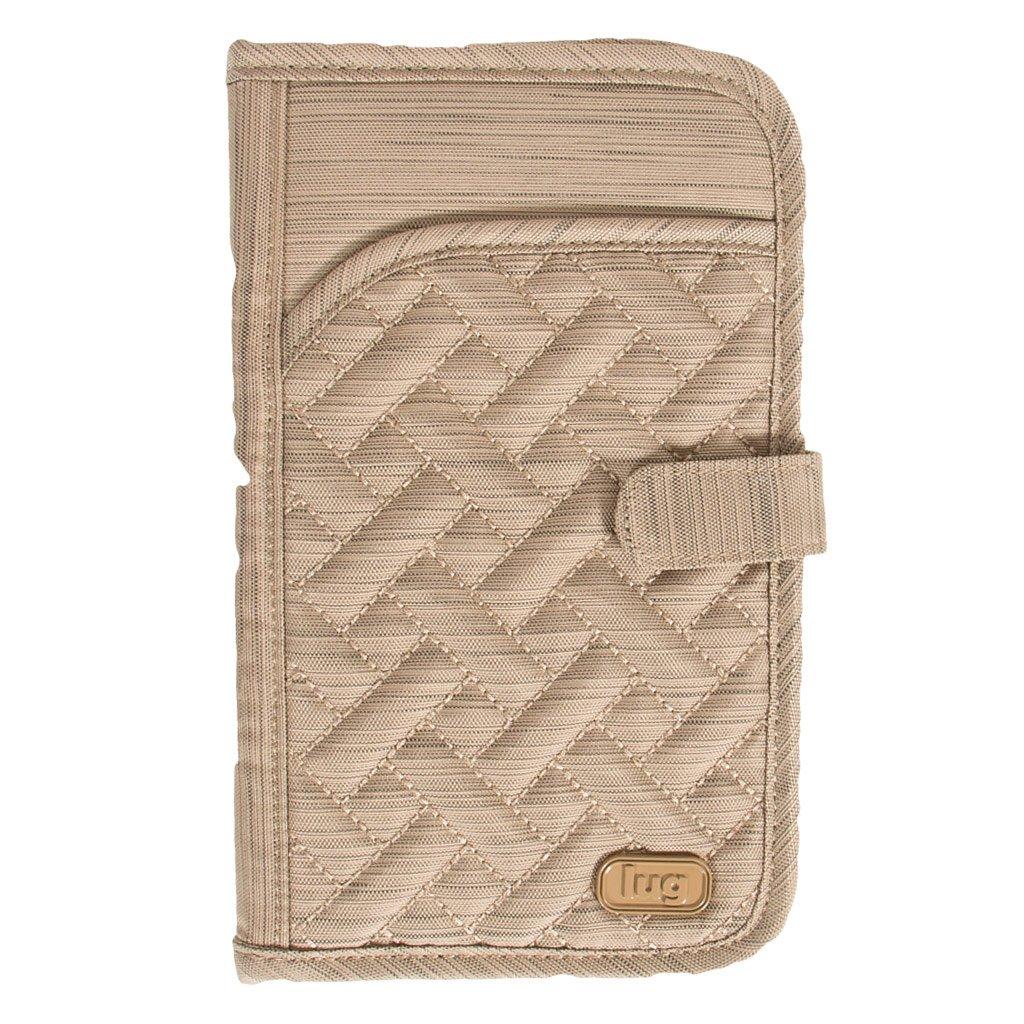 Lug Tandem Passport Wallet, Brushed Gold, One Size (Model: Tandem-Brushed Gold) LUGCA