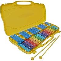 Xilofono - carrillon 25 teclas colores ROCKSTAR AX25N3 metalofono cromático con estuche