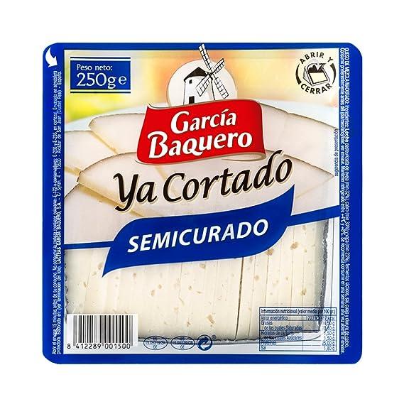 García Baquero Ya Cortado - Queso Semicurado - 250 g