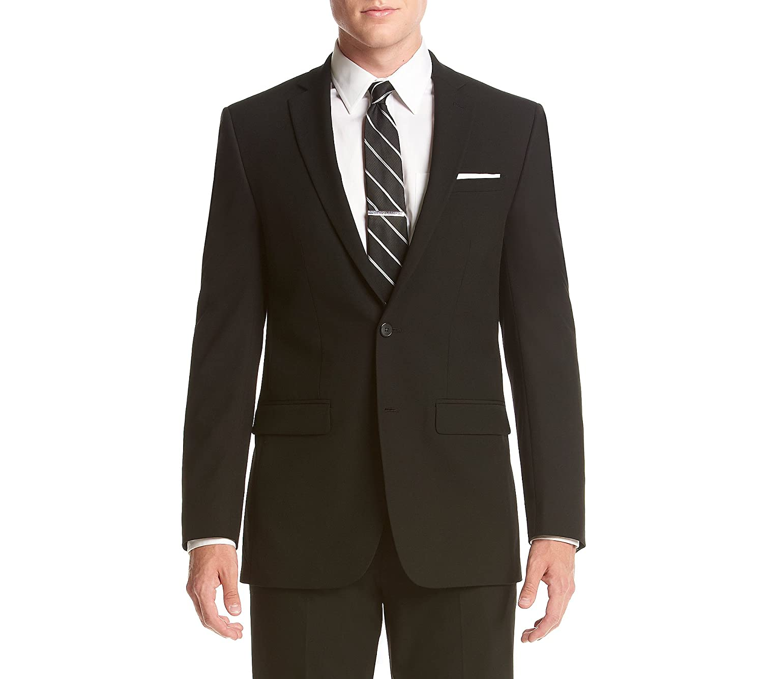 Van Heusen Mens Slim Fit Flex Stretch Suit Separate (Blazer and Pant) Van Heusen Tailored TOFN1VZX