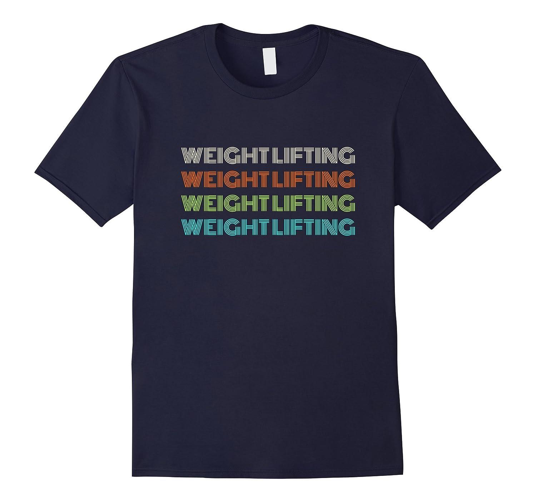 Classic 1970's Weight Lifting T-Shirt-FL
