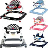 Lauflernhilfe Racer mit Spielcenter (5 Melodien) Gehfrei Gehhilfe Baby Walker in 5 verschiedenen Farben