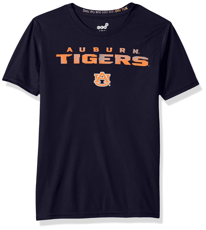 Youth Medium Dark Navy NCAA by Outerstuff NCAA Auburn Tigers Youth Boys Nebula Dri-Tek Short Sleeve Tee 10-12
