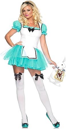 Disfraz de Alicia en el Pais de las Maravillas Turquesa Halloween ...