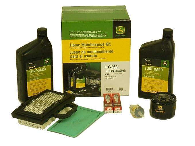 Amazon.com: John Deere OEM #LG263 kit de mantenimiento ...