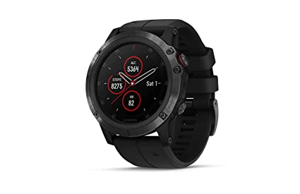 Buy Garmin Fenix 5x Plus Titanium Multisport Gps Smartwatch With
