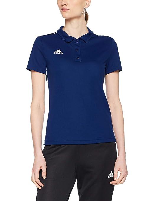 adidas Core18 Polo W Shirt, Mujer: Amazon.es: Ropa y accesorios