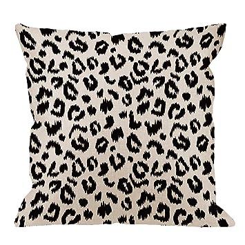 Amazon HGOD DESIGNS Leopard Pillow CoverDecorative Throw Magnificent Leopard Print Pillows Decorative