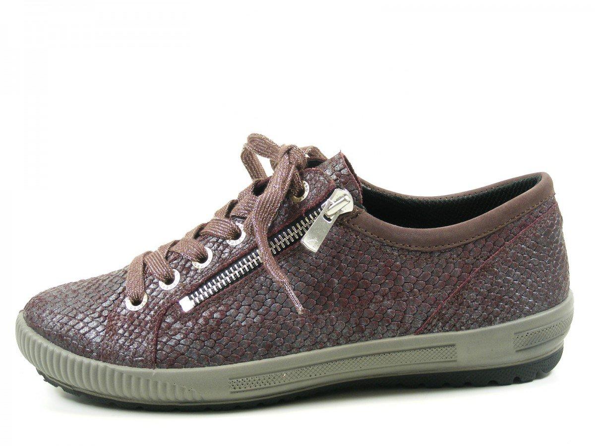 Legero 7-00818 Tanaro - Zapatillas de cuero para mujer 42 EU|Rot