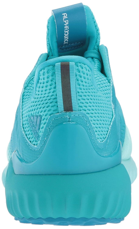 adidas Women's Alphabounce Em W Running Shoe B01N2L7WPI 11 B(M) US|Energy Blue/Energy Aqua/Mystery Petrol