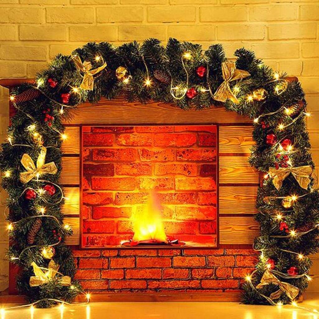 B BCX le decorazioni di Natale 2.7 Metri di lusso Rattan Light Gate Layout