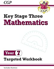 New KS3 Maths Year 7 Targeted Workbook (with answers) (CGP KS3 Maths)