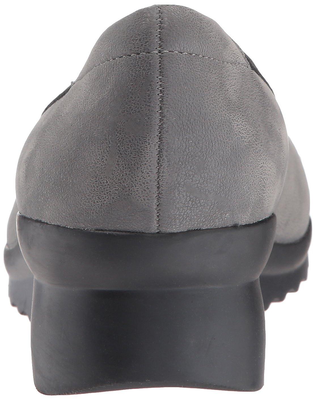 Clarks Frauen Caddell Dash Geschlossener Zeh Leder Pumps mit mit Pumps Keilabsatz Grau Synthetic 0dbf33