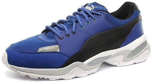 PUMA Alexander McQueen Tech Runner Lo Blue Mens Sneakers 858560a8b