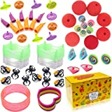 72PCS Halloween Toys and Novelty Assortment, Halloween Kids Trick or Treat Gifts, Toy and Novelty Assortment