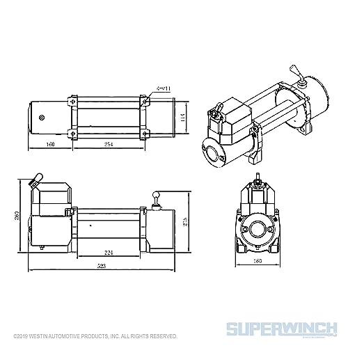 Cabrestante Superwinch 1510200 Lp 10000