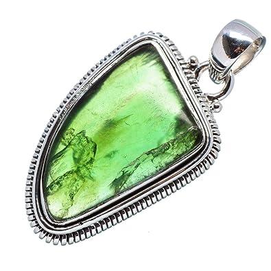 Amazon nephrite jade pendant 1 12 925 sterling silver nephrite jade pendant 1 12quot 925 sterling silver handmade jewelry aloadofball Choice Image