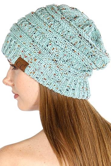 SERENITA Confetti Knit Beanie Hat eb67767d518