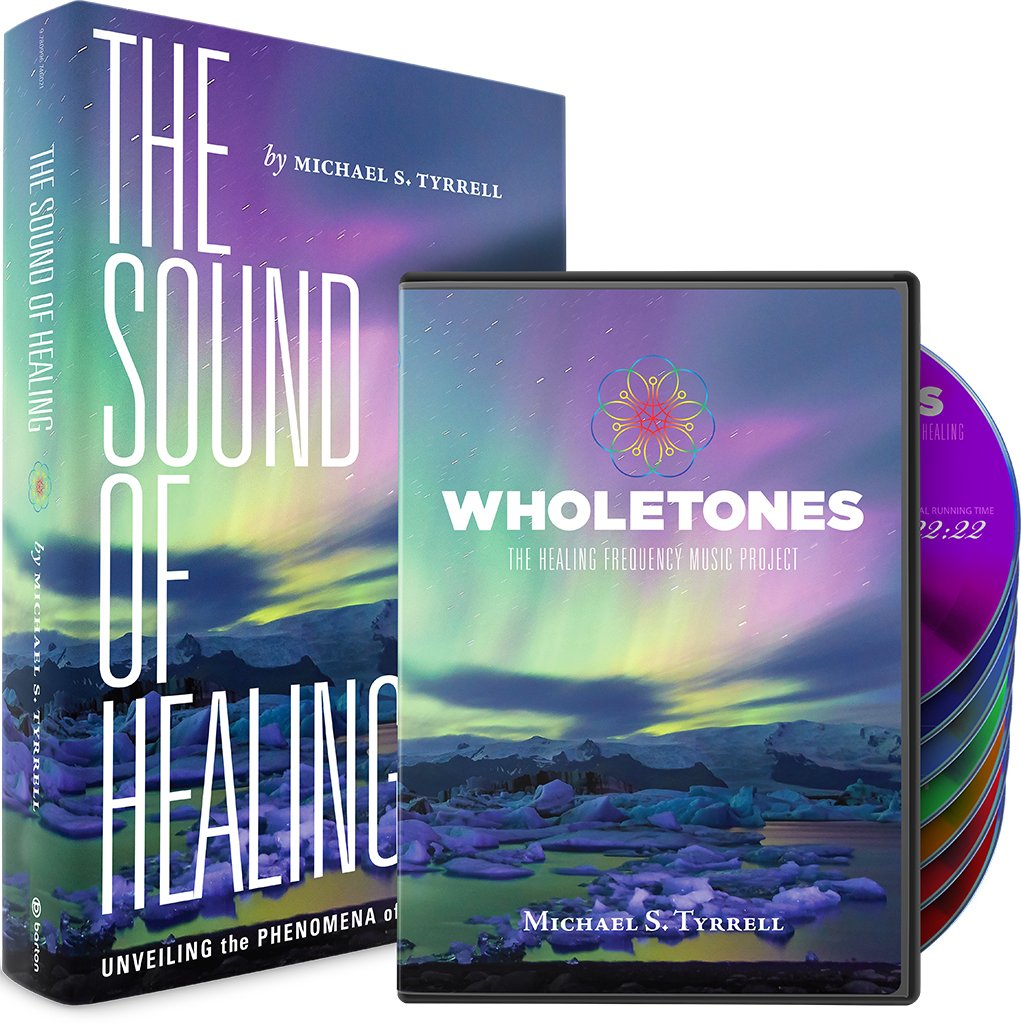 Books on physical therapy - Michael S Tyrrell Wholetones The Healing Frequency Music Project Book And Cd Set Amazon Com Music