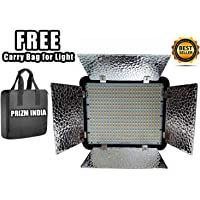 Simpex 400 LED Video Camera Light for Videography and Shooting Stand Mountable HD Video Light Extra Bright Dual Colour LED with Battery & Charger, Best Light for Youtube Videos