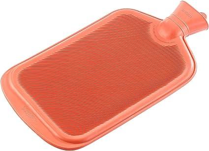 Ram/® W/ärmflasche mit flauschigem Bezug aus Gummi 2 l gro/ß Lila