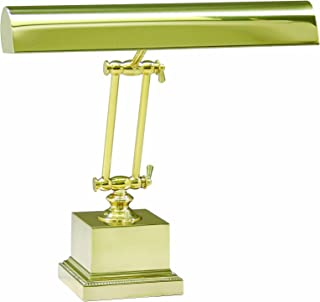 """product image for House of Troy P14-202 Portable Desk/Piano Lamp, 13"""", Polished Brass"""
