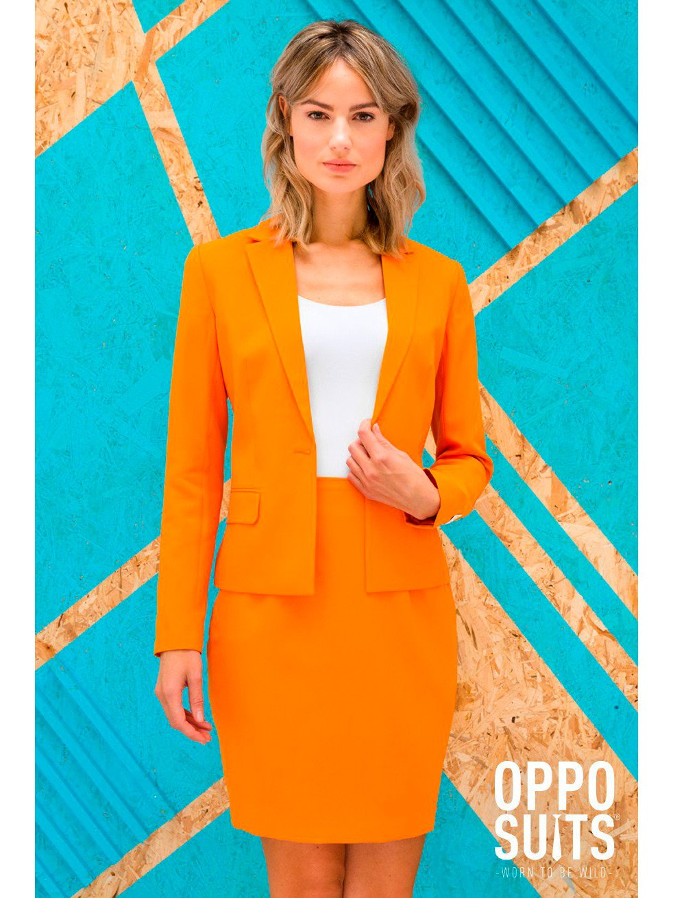 Opposuits Womens Solid Color Suit Party Suit by