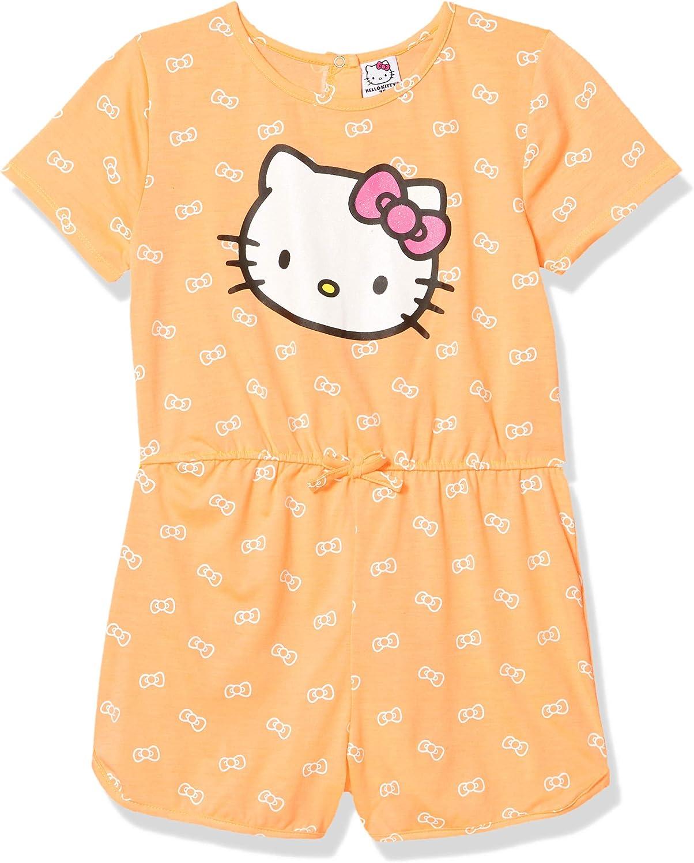 Hello Kitty Girls Romper
