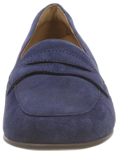 8b57a230d09 Clarks Women s s Un Blush Go Loafers Blue (Navy Suede -) 2 UK  Amazon.co.uk   Shoes   Bags