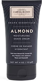 product image for Caswell-Massey Almond Soothing Shave Cream – All Natural Shaving Cream Made In USA - 4 Ounces