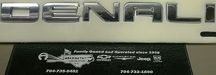 For 2016-2018 GMC Sierra Denali Tailgate Emblem 20930232 Chrome Genuine OEM GM