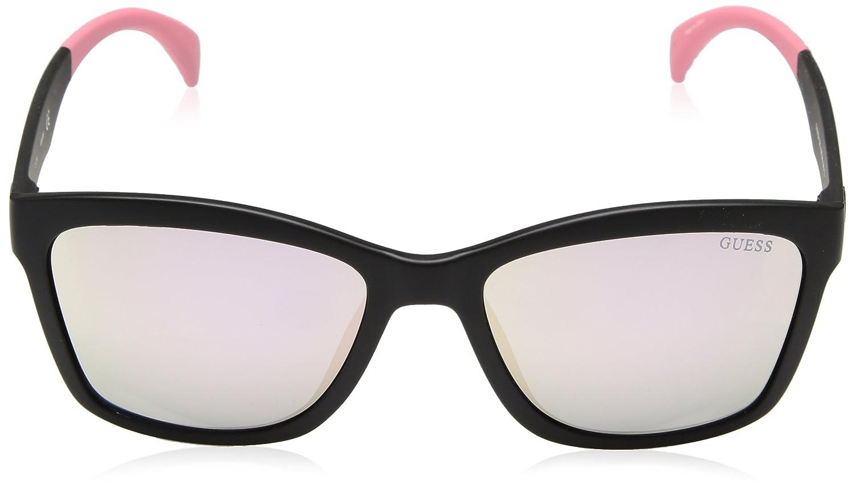 Amazon.com: Guess Mujer Acetato anteojos de sol cuadrados ...