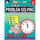 180 Days of Problem Solving for Second Grade – Build Math Fluency with this 2nd Grade Math Workbook (180 Days of…