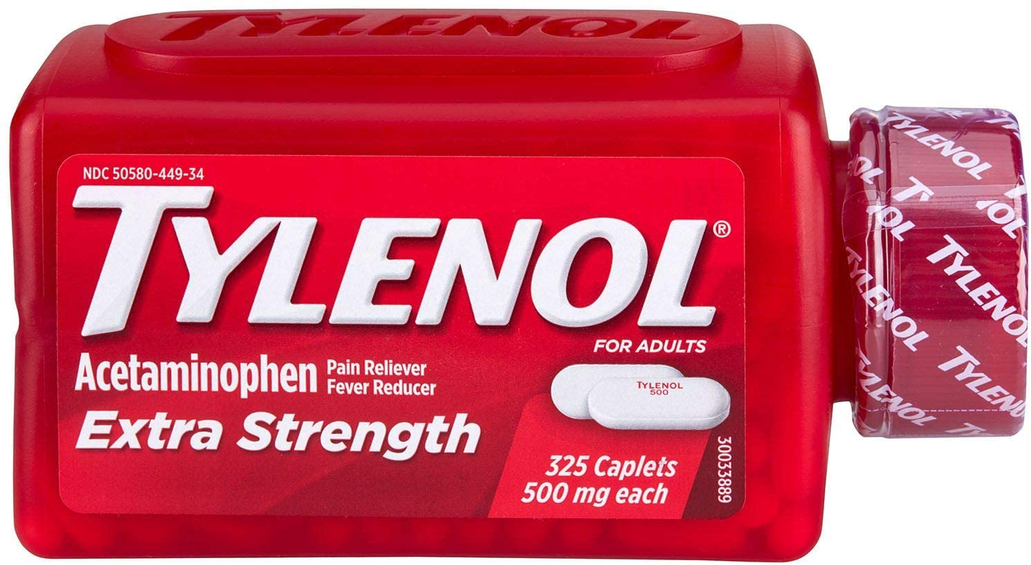 Tylenol caplets