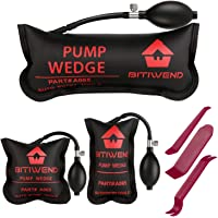 BITIWEND Air Shim , Air Wedge Bag Pump Professional Leveling Kit & Alignment Tool , 3 Piece Inflatable Shim Bag for All…