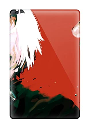 New Tokyo Ghoul Anime Gore Shotwhite Mascara Crazy Tpu Skin Case Compatible With Ipad Mini/