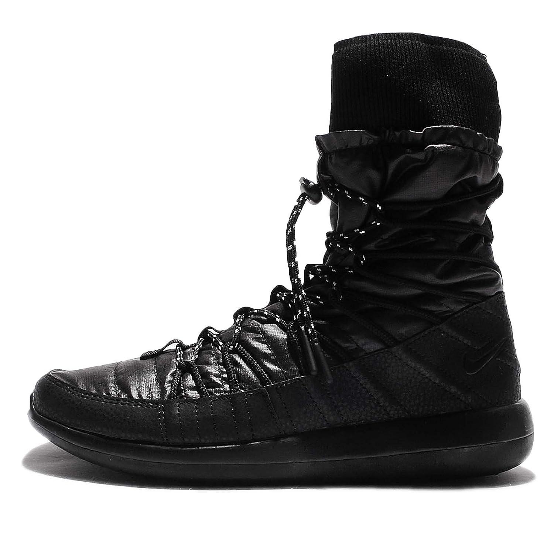 check out 0e0b0 b4bf5 Amazon.com   NIKE Women s W Roshe Two Hi, Black White, 6 US   Boots