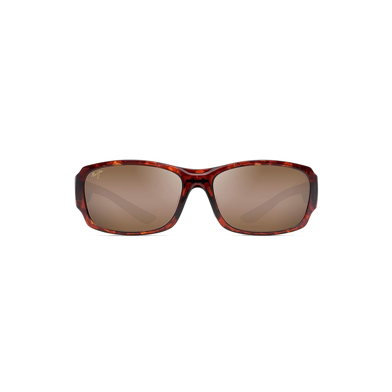 60d3ffbcfc4 Amazon.com: Maui Jim Monkeypod H441-10 | Polarized Tortoise Wrap Frame  Sunglasses, HCL Bronze Lenses, with Patented PolarizedPlus2 Lens  Technology: Clothing