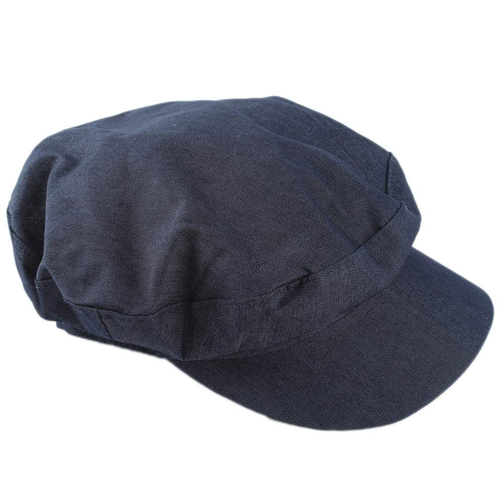 f2155712e43078 LIULIULIU🍁Retro Version Denim Octagonal Hat Unisex British Style Solid  Casual Flat Beret Octagonal Cap Hairy Beret Hat Snap Brim Collection Hat  Newsboy Ivy ...