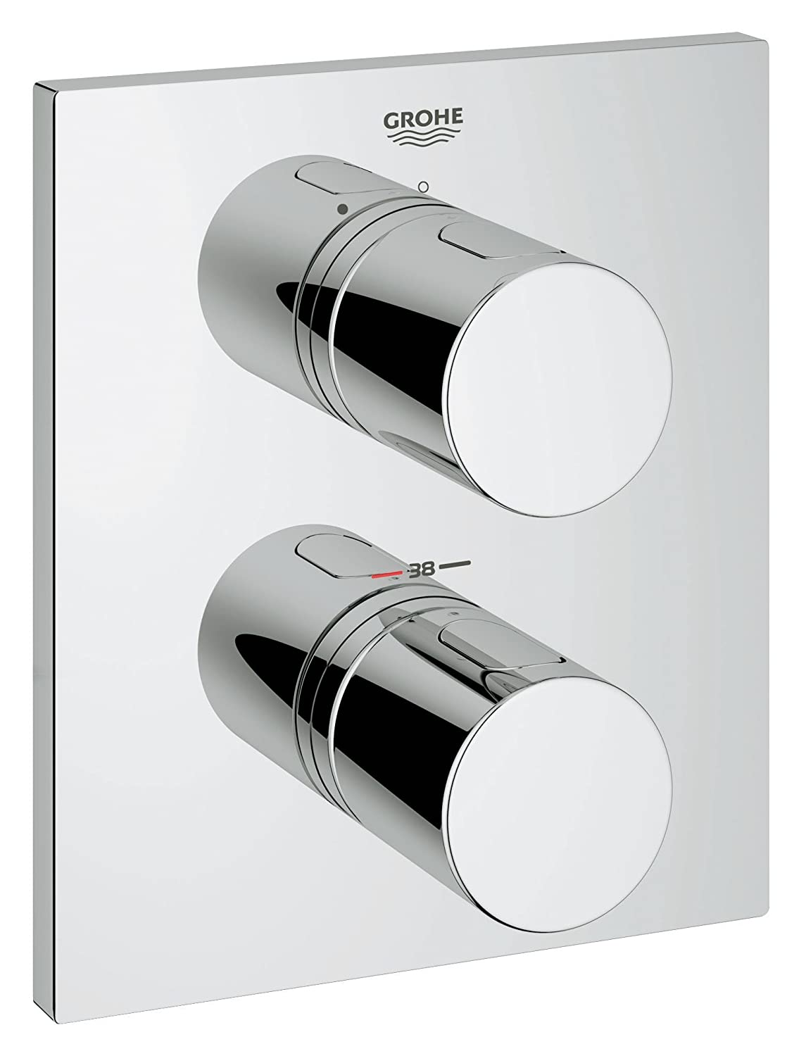 Grohe Grohtherm 3000 Cosmopolitan 19568000 Thermostatic Shower Mixer ...