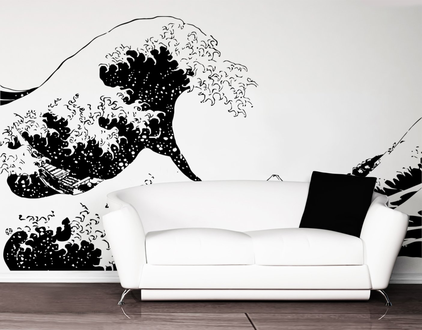 Amazoncom Stickerbrand Asian Décor Vinyl Wall Art Japanese - How do you put up vinyl wall decals