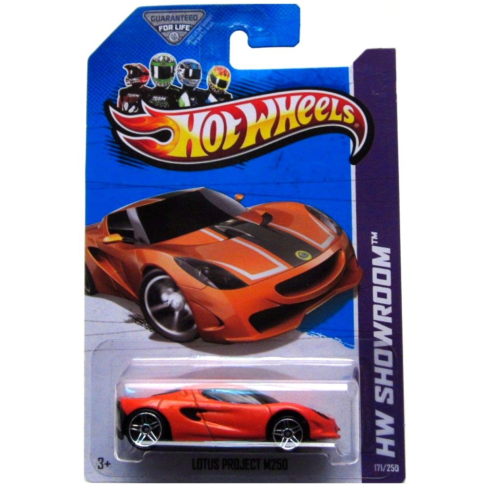 Amazon com hot wheels hw showroom 171 250 lotus project m250 toys games