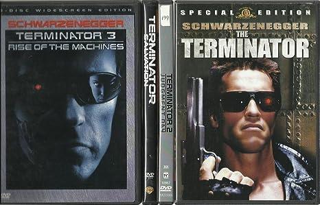 Amazon com: THE TERMINATOR DVD BOX SET! ALL 4 MOVIES ON DVD