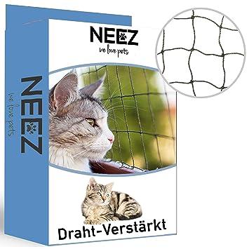 NEEZ - Red para Gatos para balcón y Ventana I Red de protección ...