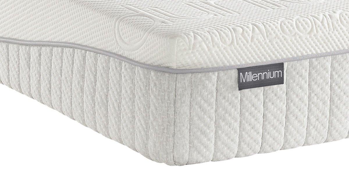 Dunlopillo Millennium Medium Tension Mattress Uk King 150 X 200 Cm Buy Online In Brunei At Desertcart