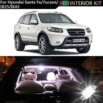 muchkey® para Hyundai Santa Fe Grand Santa Fe Tucson ix25 IX45 LED para interior de