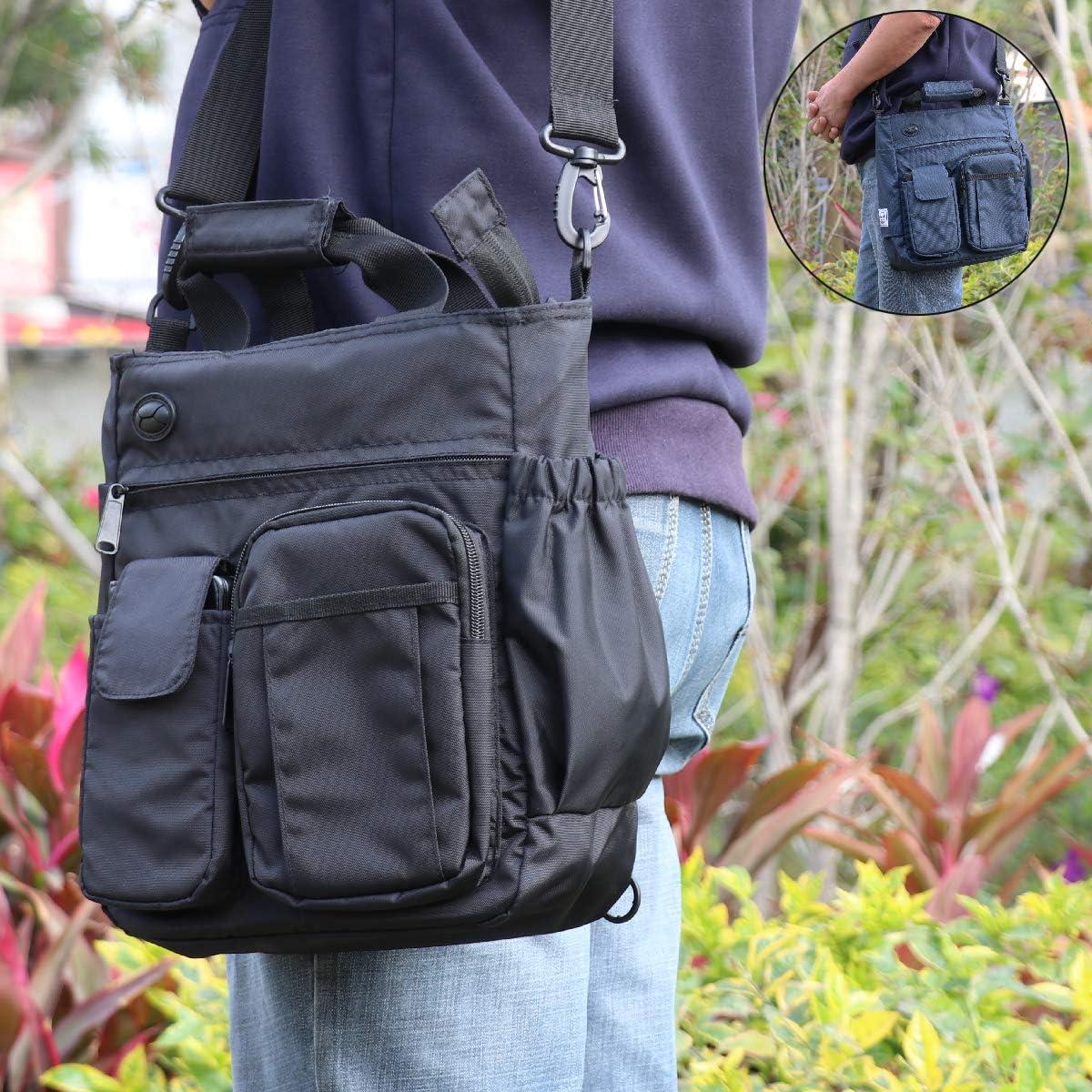 DGCLJY Backpack Waterproof Leather Multifunctional Backpack Messenger Bag Portable Backpack Handbag Shoulder Bag