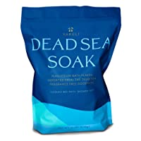 Yareli Dead Sea Bath & Foot Soak, Unscented Magnesium Bath Salt Flakes, Stronger Alternative to Epsom Salt 15lbs