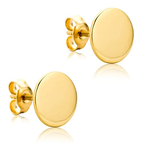 Ohrringe Gold 375er Knoten Ohrstecker 9 kt Goldohrringe Goldschmuck Creolen