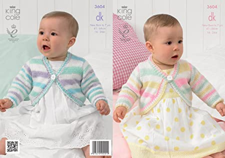 6a07bc7ff Image Unavailable. Image not available for. Colour  King Cole Baby Double Knitting  Pattern ...